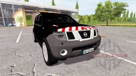 Nissan Pathfinder (R51) escorte for Farming Simulator 2017