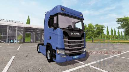 Scania S580 for Farming Simulator 2017
