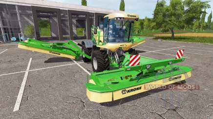 Krone BiG M GTX 750 v1.4 for Farming Simulator 2017