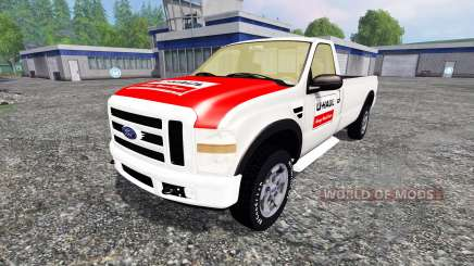 Ford F-250 single cab U-Haul for Farming Simulator 2015