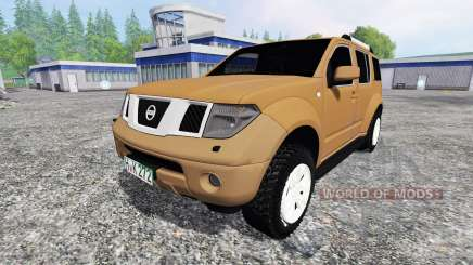 Nissan Pathfinder (R51) for Farming Simulator 2015