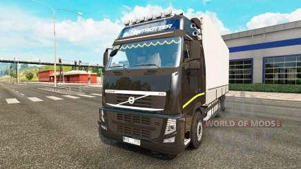Volvo FH13 Tandem v2.1 for Euro Truck Simulator 2