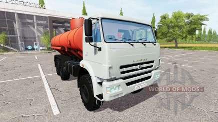 KAMAZ-43118 truck for Farming Simulator 2017