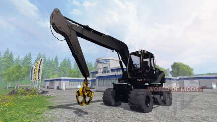 Liebherr A900C black edition for Farming Simulator 2015