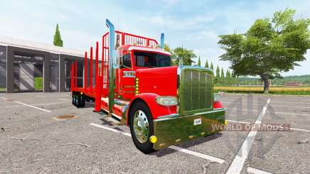 Peterbilt 388 forest for Farming Simulator 2017