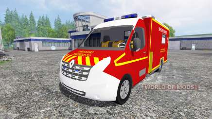 Renault Master VSAV for Farming Simulator 2015