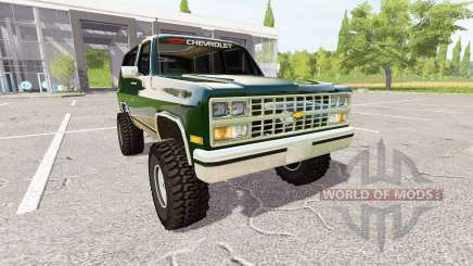 Chevrolet K5 Blazer 1991 for Farming Simulator 2017