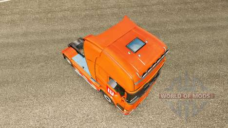 LUKOIL skin for Scania truck for Euro Truck Simulator 2