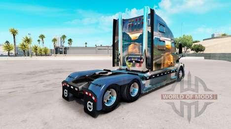 Nature skin for Volvo truck VNL 780 for American Truck Simulator