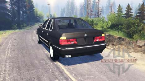 BMW 750Li (E38) v3.0 for Spin Tires