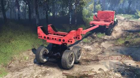 KrAZ-63221 v3.0 for Spin Tires