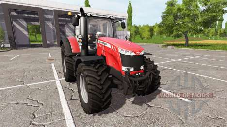 Massey Ferguson 8737 v2.5 for Farming Simulator 2017