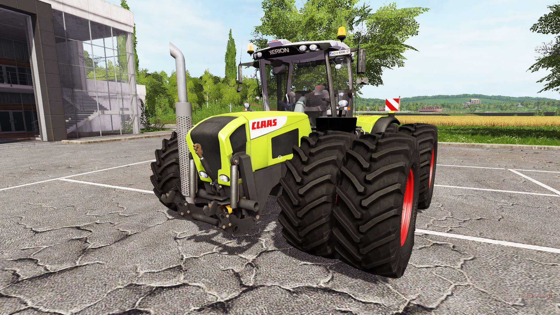 Claas xerion 3800 v1 0 2 2 for farming simulator 2017