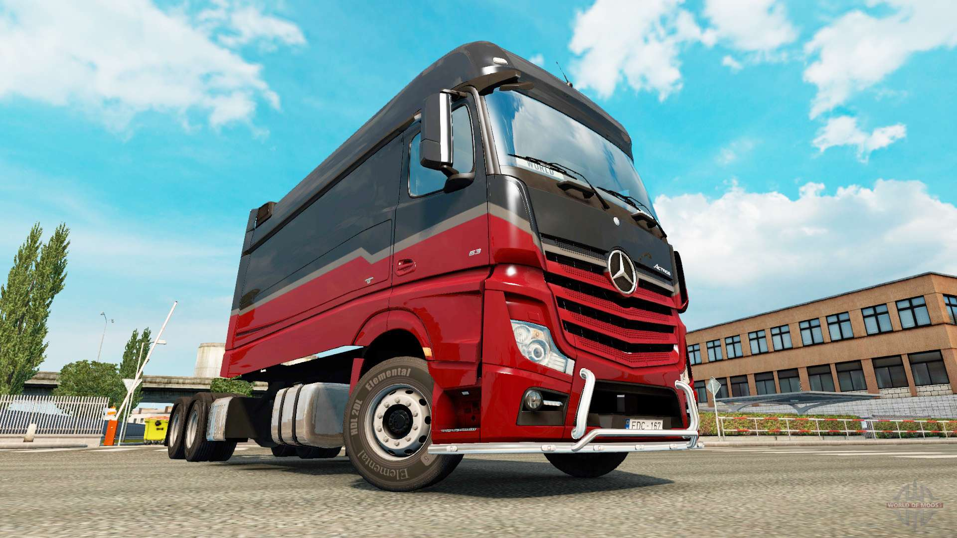 Mercedes Benz Actros Mp4 Longline For Euro Truck Simulator 2