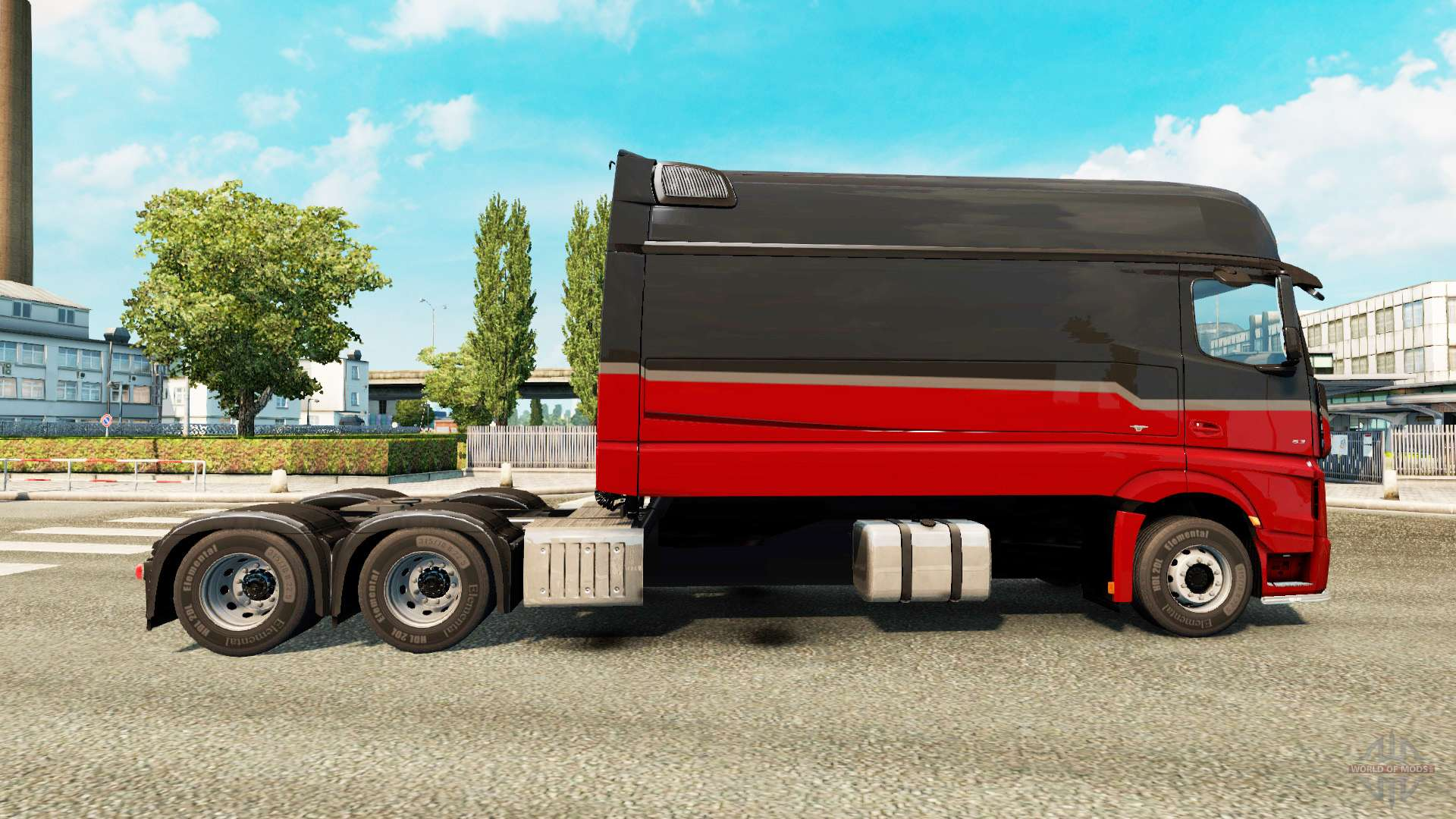 MercedesBenz Actros MP4 longline for Euro Truck Simulator 2