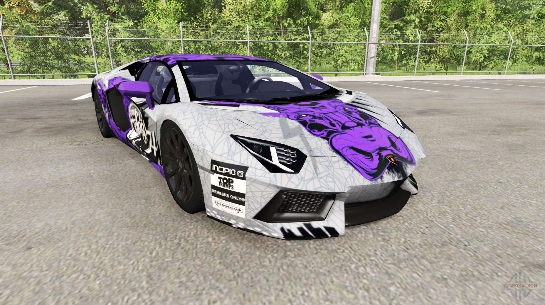 Lamborghini Aventador Lp 700 4 Lb834 For Beamng Drive