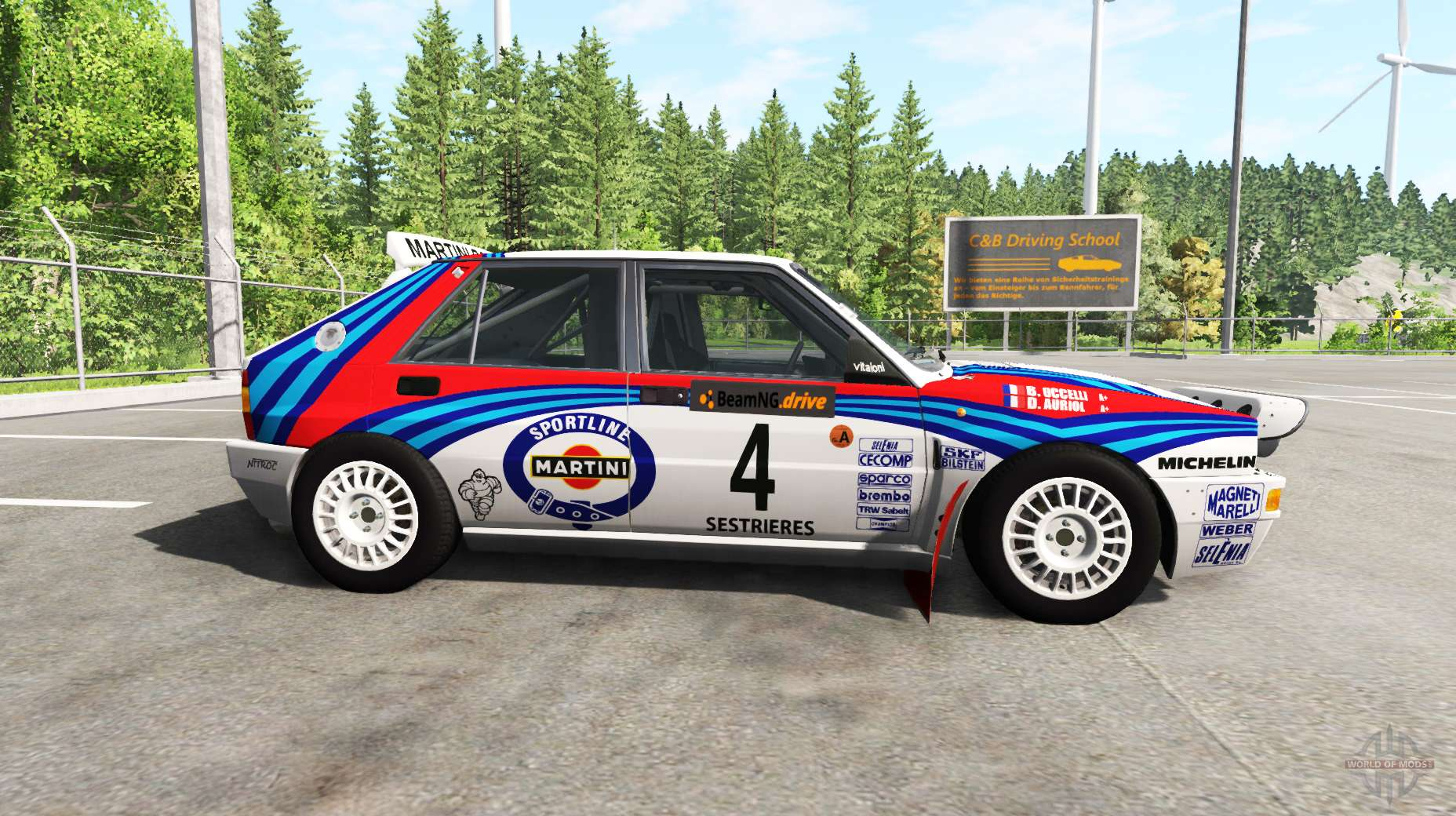 lancia delta 831 hf integrale evo ii v2 0 for beamng drive. Black Bedroom Furniture Sets. Home Design Ideas