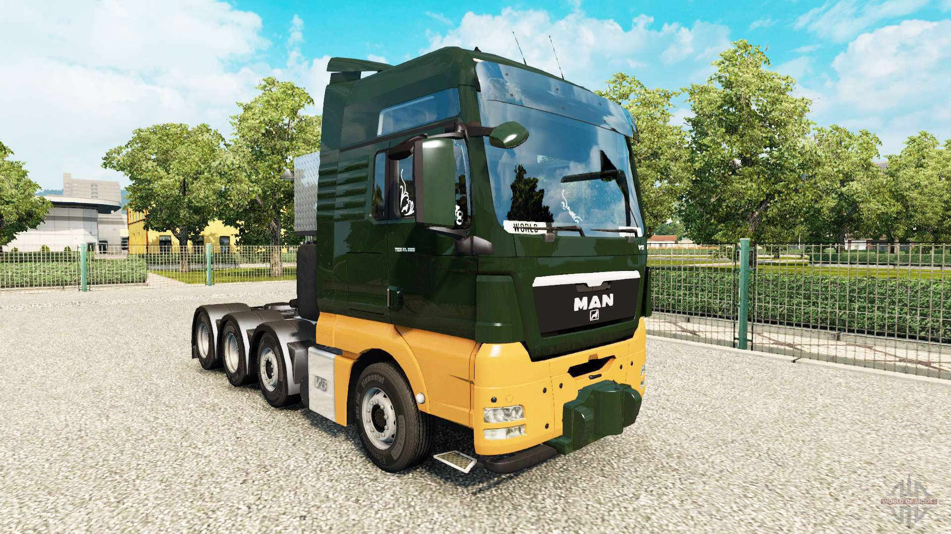 man tgx 8x4 v1 8 for euro truck simulator 2. Black Bedroom Furniture Sets. Home Design Ideas