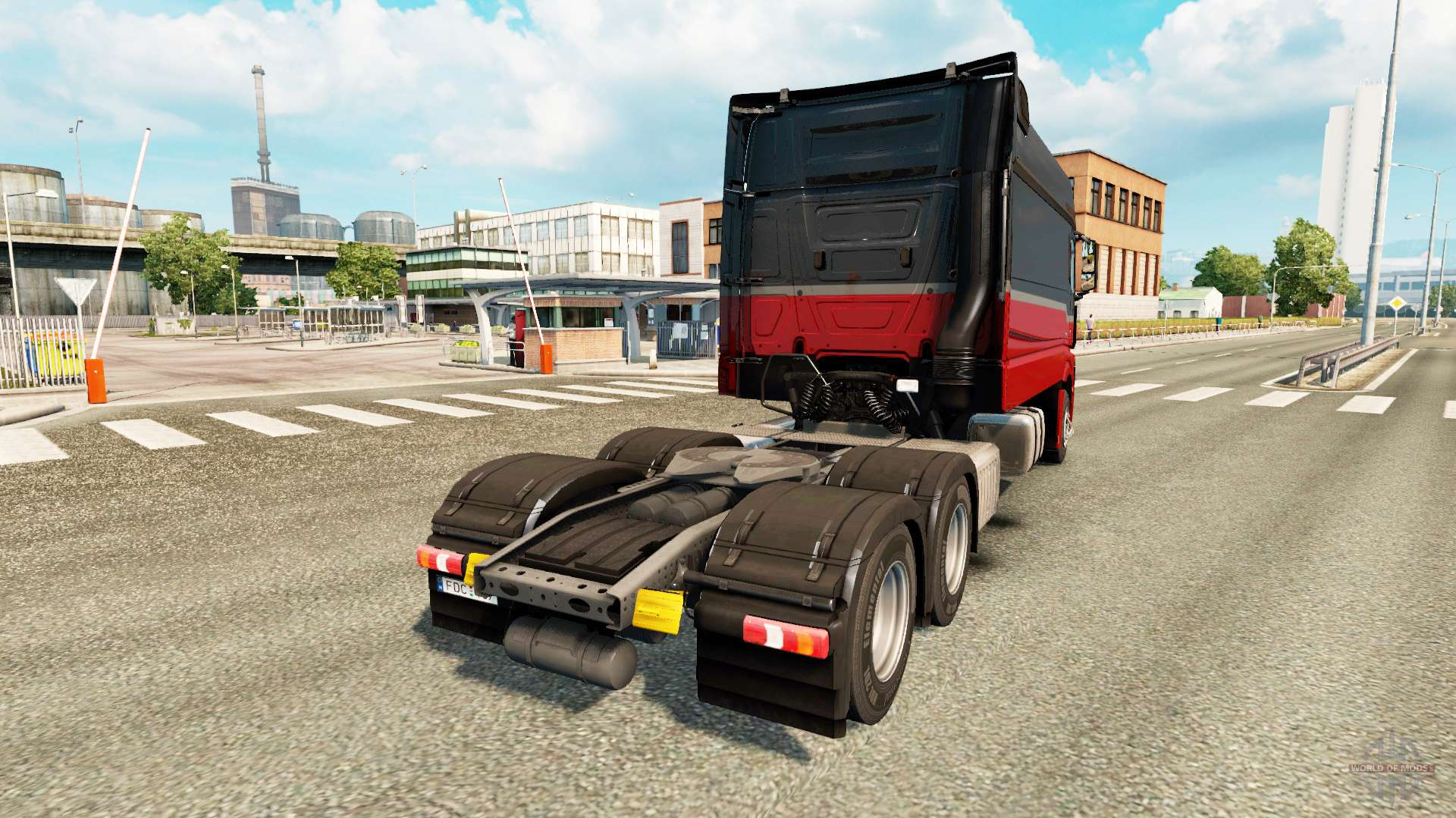 mercedes benz actros mp4 longline for euro truck simulator 2. Black Bedroom Furniture Sets. Home Design Ideas