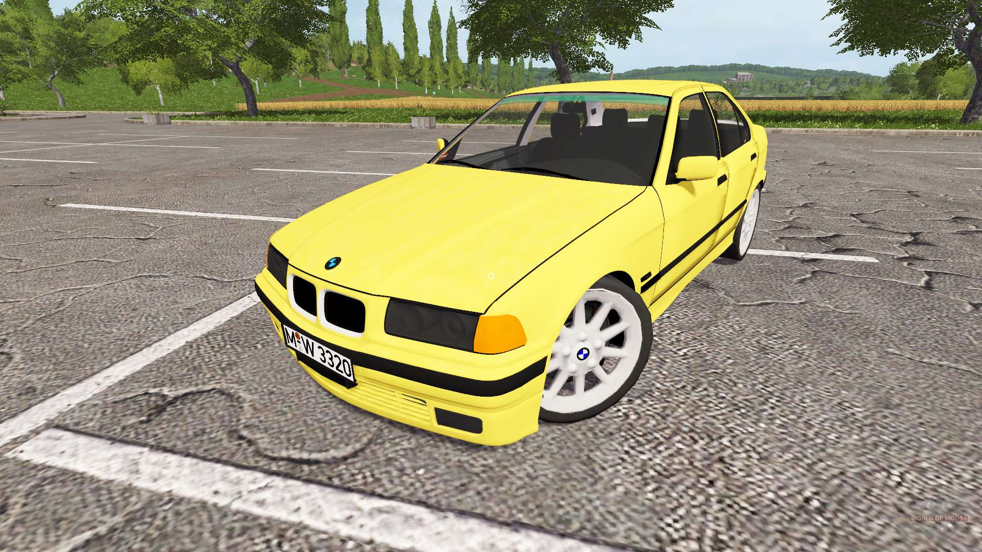 bmw 320i e36 for farming simulator 2017. Black Bedroom Furniture Sets. Home Design Ideas