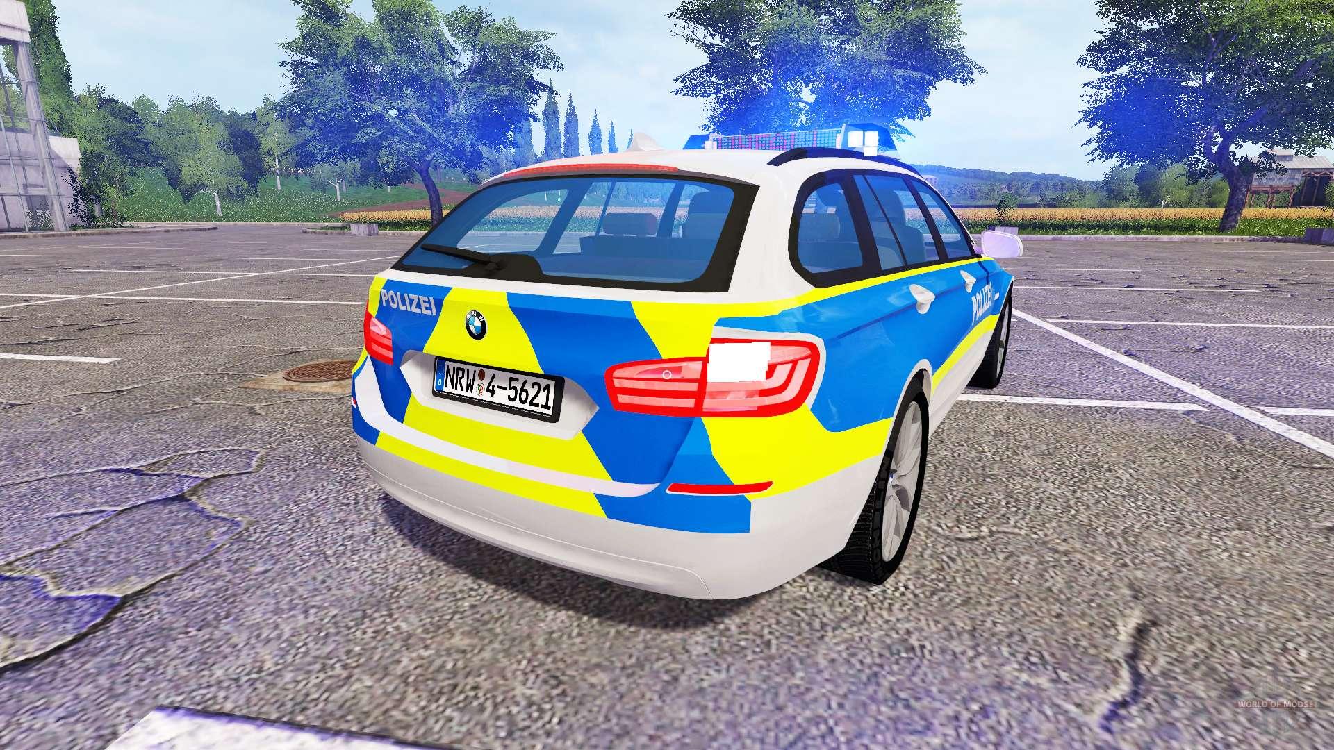 BMW 520d Touring (F11) Police for Farming Simulator 2017