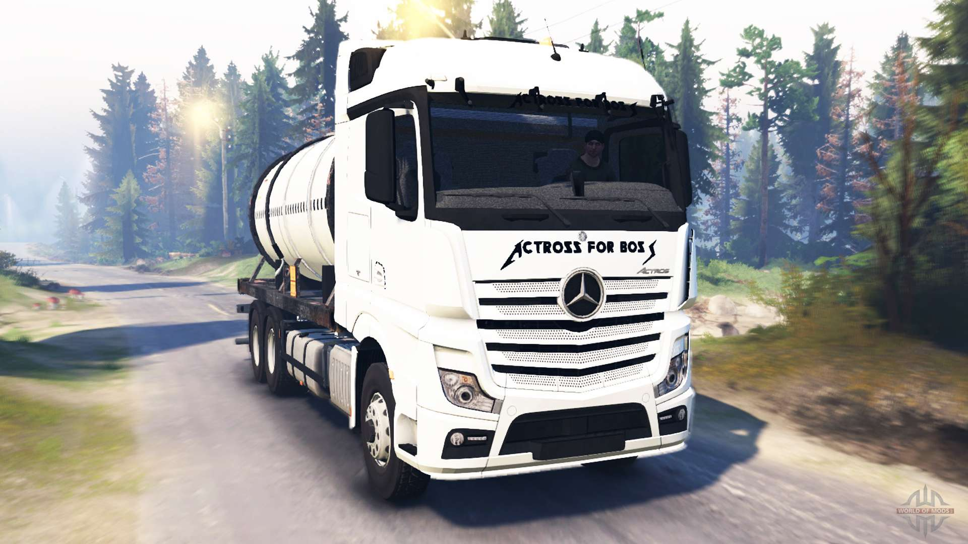 Mercedes benz actros mp4 v2 0 for spin tires for Mercedes benz astros