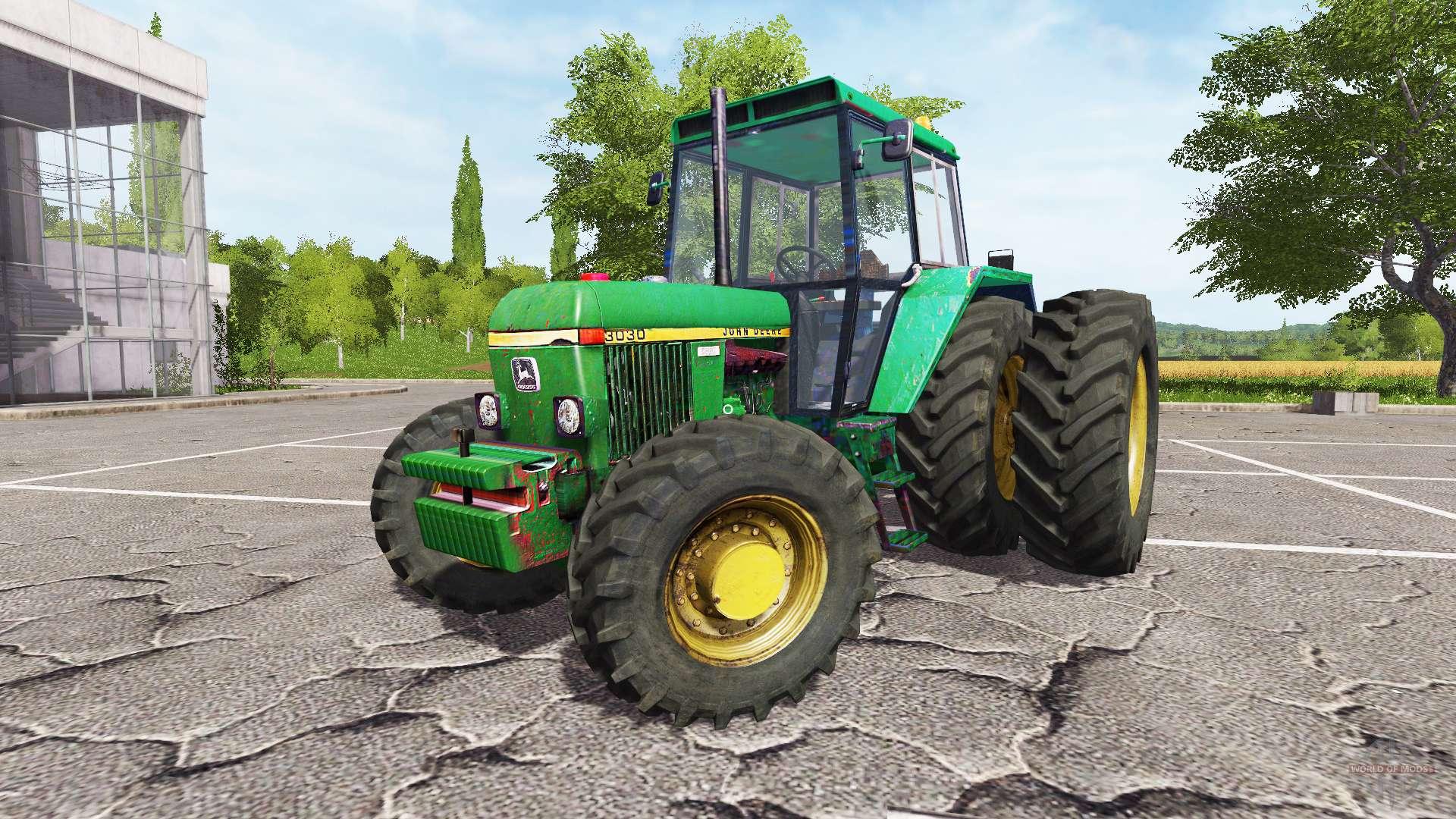 Farming Simulator Tractors : John deere v for farming simulator