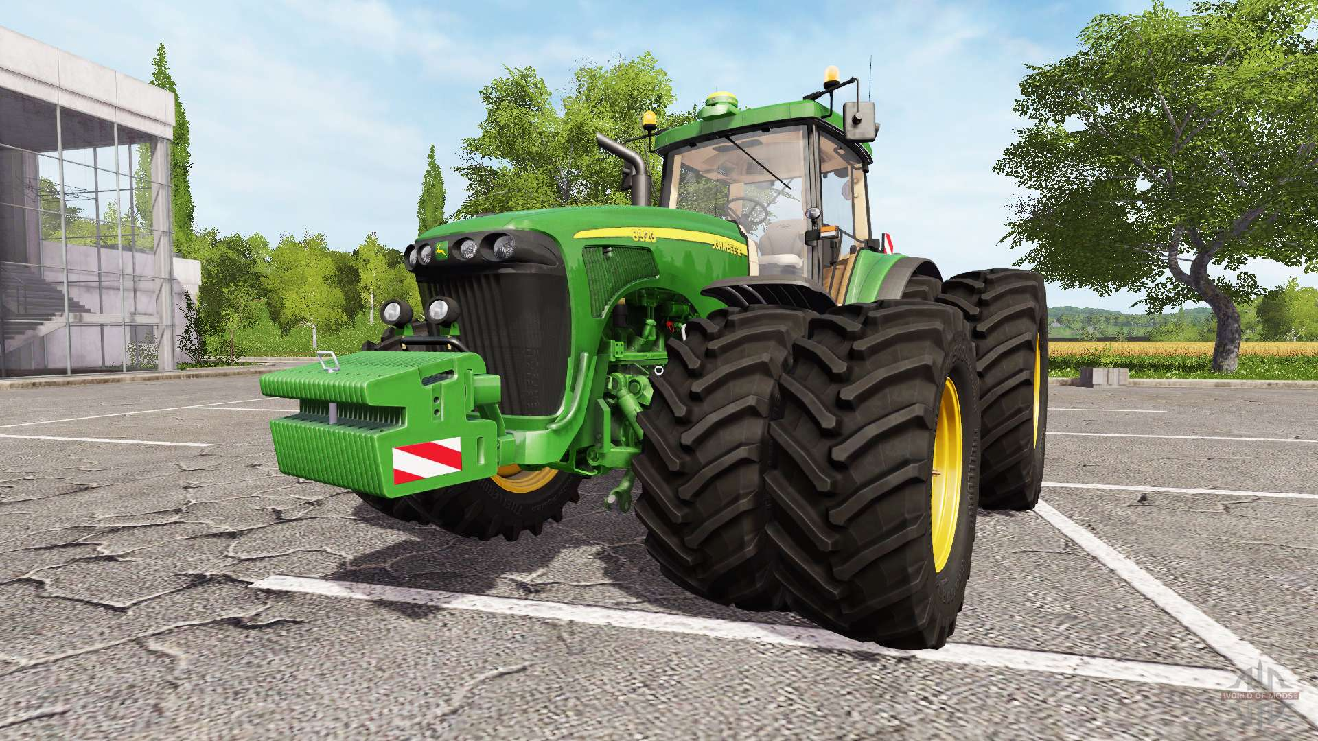 Tractor Simulator 2 : John deere v for farming simulator