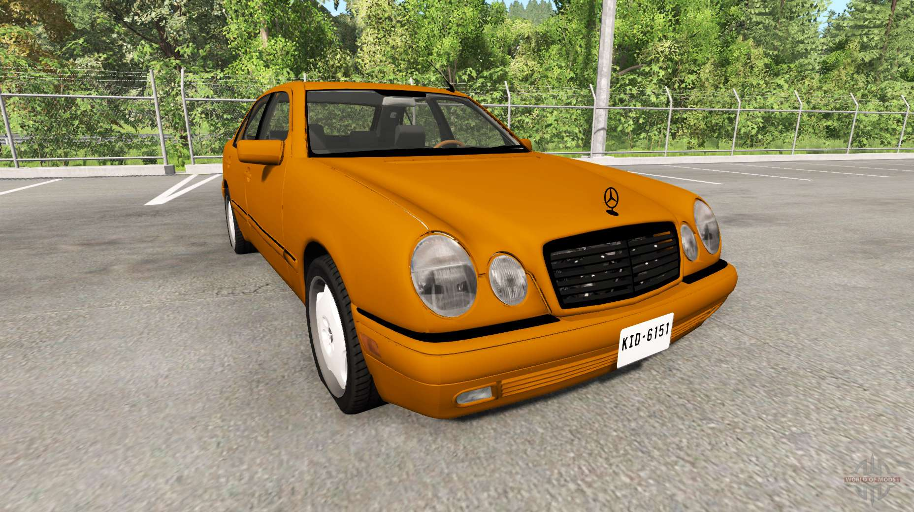 Mercedes Benz E420 W124 For Beamng Drive