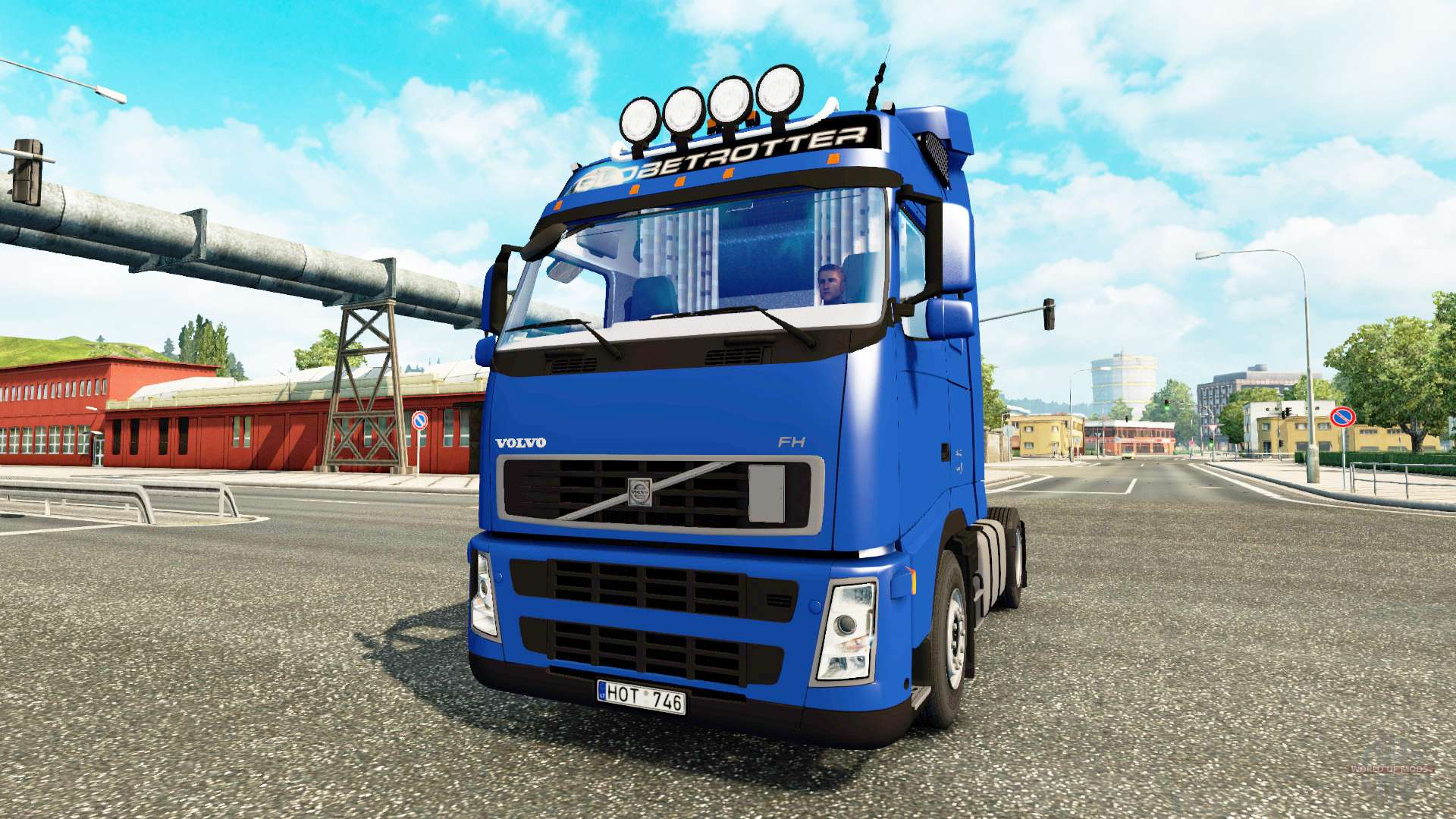 volvo fh 440 for euro truck simulator 2. Black Bedroom Furniture Sets. Home Design Ideas