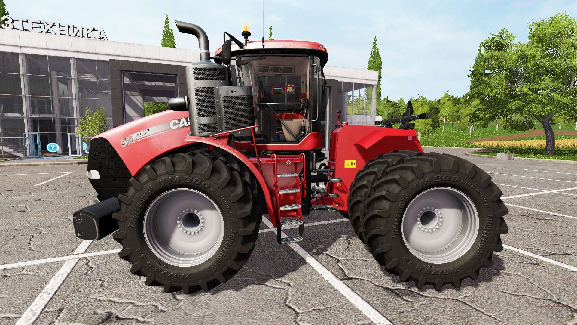 Case IH Steiger 450 for Farming Simulator 2017