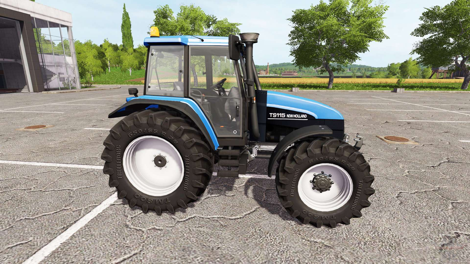 Tractor Simulator 2 : New holland ts for farming simulator