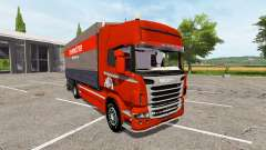 Scania R730 side tarpaulin for Farming Simulator 2017