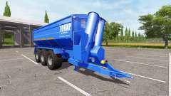 BERGMANN GTW 430 Tonar for Farming Simulator 2017
