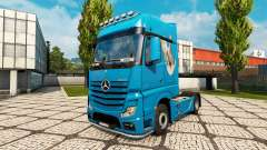 Skin Dove for tractor Mercedes-Benz