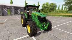John Deere 6250R v2.0 for Farming Simulator 2017