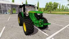 John Deere 6210R v1.1 for Farming Simulator 2017