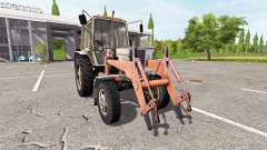 MTZ-82 Belarus loader for Farming Simulator 2017