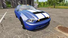 Ford Mustang GT road rage light addon for Farming Simulator 2017
