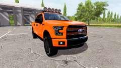 Ford F-150 Raptor 2015 for Farming Simulator 2017