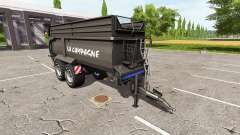Krampe Bandit 750 black for Farming Simulator 2017
