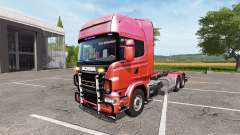 Scania R730 hooklift v1.0.0.1 for Farming Simulator 2017