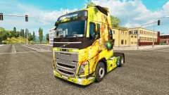 Flower Girl skin for Volvo truck for Euro Truck Simulator 2