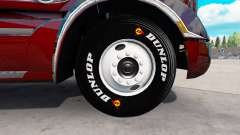 Real tires for American Truck Simulator