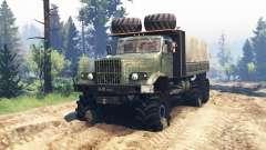 KrAZ 255 v2.0 for Spin Tires