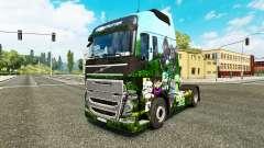 Minecraft skin for Volvo truck for Euro Truck Simulator 2