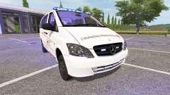 Mercedes-Benz Viano First Responder for Farming Simulator 2017