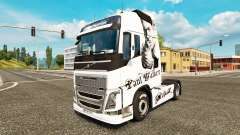 Paul Walker skin for Volvo truck for Euro Truck Simulator 2