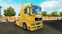 Skin Dirt on the truck MAN for Euro Truck Simulator 2