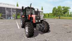 MTZ-1221 Belarus v1.3 for Farming Simulator 2017